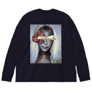 ViVi By HIRO Collection Big silhouette long sleeve T-shirts