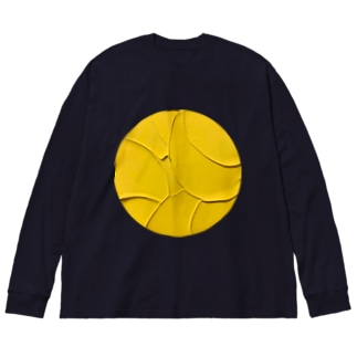Lemon pie Big silhouette long sleeve T-shirts