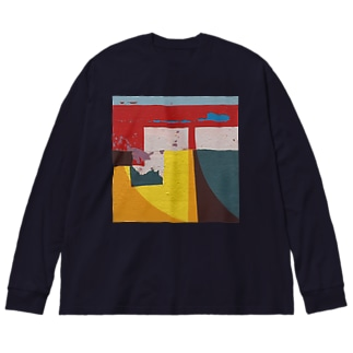 Cellophane セロファン Type2 Big silhouette long sleeve T-shirts