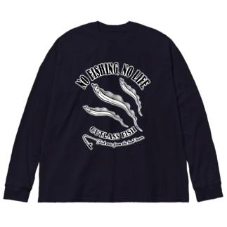 TACHIUO_EB_1CW Big Silhouette Long Sleeve T-Shirt