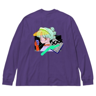 xxx Big silhouette long sleeve T-shirts