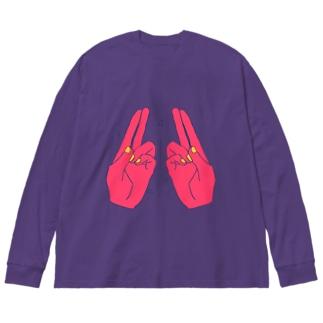 CHOICHOI Big silhouette long sleeve T-shirts
