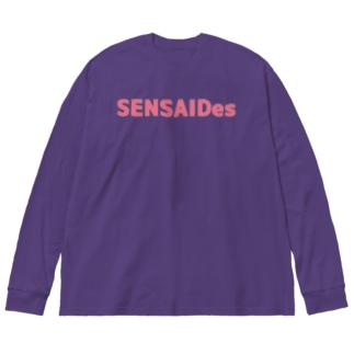 SENSAIDes Big silhouette long sleeve T-shirts