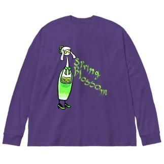 ノンカクテル スプリング・ブロッサム Big silhouette long sleeve T-shirts