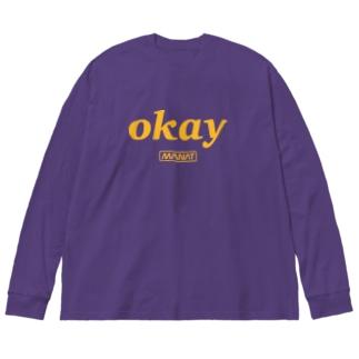 okay Big silhouette long sleeve T-shirts