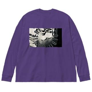 モノクロ Big Long Sleeve T-shirt