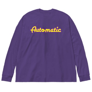 automatic Big silhouette long sleeve T-shirts