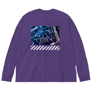 detour Big silhouette long sleeve T-shirts