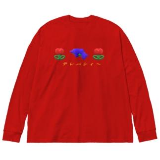 C Big silhouette long sleeve T-shirts