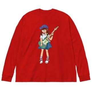 bassist Big silhouette long sleeve T-shirts