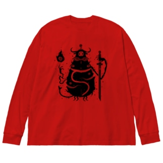 erubakki_ベッチー Big silhouette long sleeve T-shirts