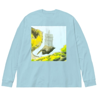 サン・ファン・バウティスタ Big silhouette long sleeve T-shirts