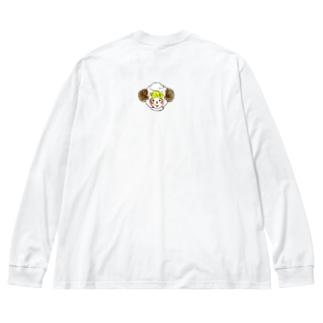 こめっとちゃん その1 Big silhouette long sleeve T-shirts