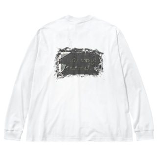 I escaped Big silhouette long sleeve T-shirts