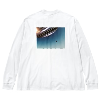 light is Big silhouette long sleeve T-shirts