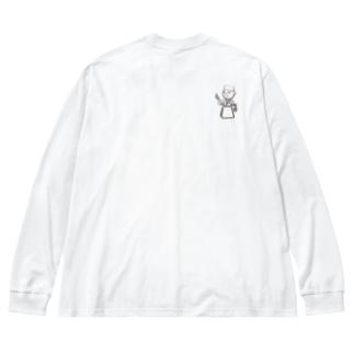 かっぽう猪澤オリジナルアイテム② Big silhouette long sleeve T-shirts
