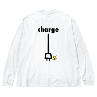 charge Big silhouette long sleeve T-shirts