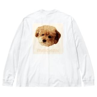 meichan Big silhouette long sleeve T-shirts