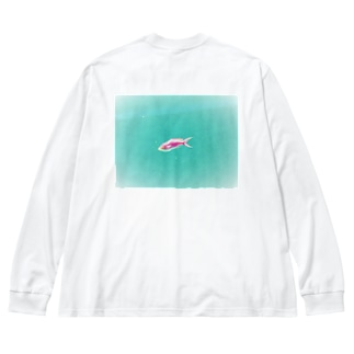 旅シリーズ 雅 Big silhouette long sleeve T-shirts