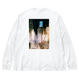 Tokyo-1 Big silhouette long sleeve T-shirts