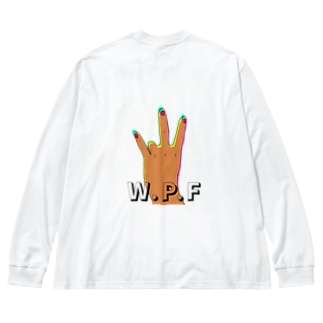 WPF Big silhouette long sleeve T-shirts
