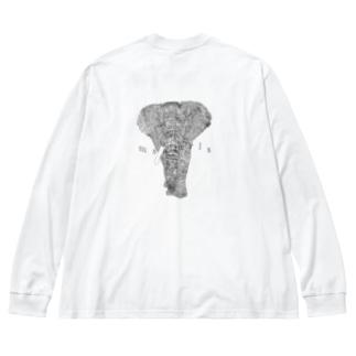 Ms Amaryllis ZO  Big silhouette long sleeve T-shirts