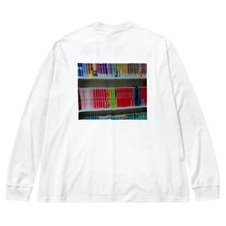 本棚 Big Silhouette Long Sleeve T-Shirt