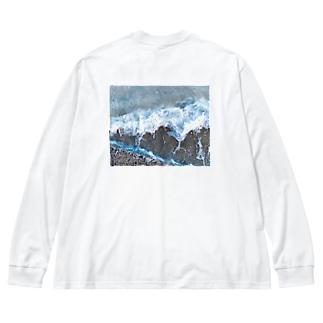 漣 Big Silhouette Long Sleeve T-Shirt