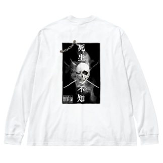死生不知 Big silhouette long sleeve T-shirts