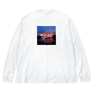 REFLECT>RESPECT Big silhouette long sleeve T-shirts