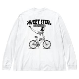 """SWEET STEEL Cycles"" #2 Big Long Sleeve T-shirt"