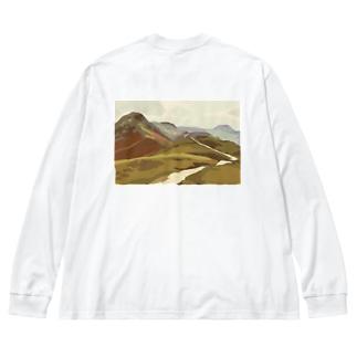 キャットベルズ イギリスの自然 Big silhouette long sleeve T-shirts