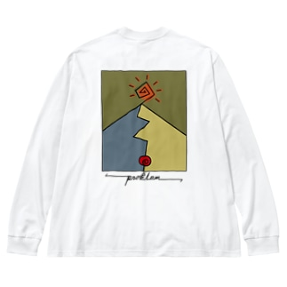 problem Big silhouette long sleeve T-shirts