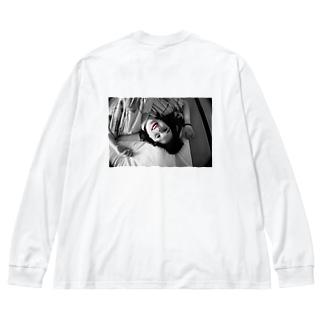 YUKATAでゴロりん Big silhouette long sleeve T-shirts