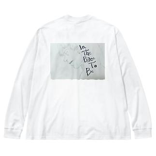 donut Big silhouette long sleeve T-shirts