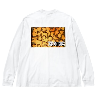 THE COOKIES Big silhouette long sleeve T-shirts