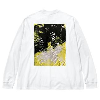 ホップ ステップ ジャンプで Big silhouette long sleeve T-shirts