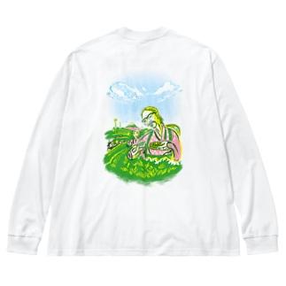 CHATSUMI Big silhouette long sleeve T-shirts