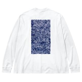 WASH Big silhouette long sleeve T-shirts