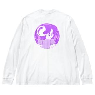 Sheep Girl Big Long Sleeve T-shirt