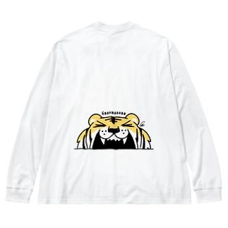 BK*トラがガーーーーーーッ!でかっ Big Long Sleeve T-shirt