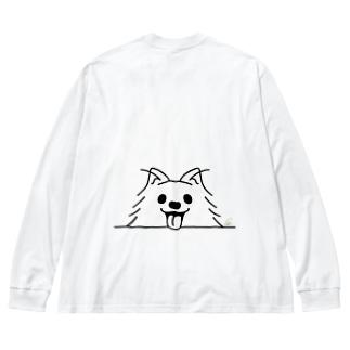BK*ポメラニアンがでかっ! Big Long Sleeve T-shirt