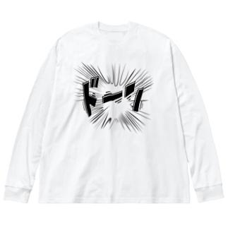 ドーン Big silhouette long sleeve T-shirts