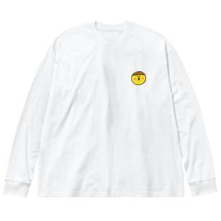 にっこりシリーズ Big silhouette long sleeve T-shirts