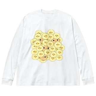 ニッケ・ワギリ・バナナ Big silhouette long sleeve T-shirts