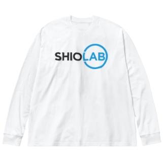 シオラボ Big silhouette long sleeve T-shirts
