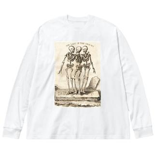 死のすべきこと - デス ドゥーイングス Big silhouette long sleeve T-shirts