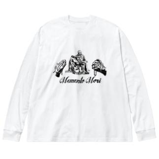 Memento Mori pieta Big silhouette long sleeve T-shirts