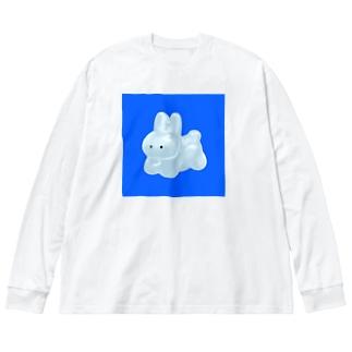 USAGI Big silhouette long sleeve T-shirts
