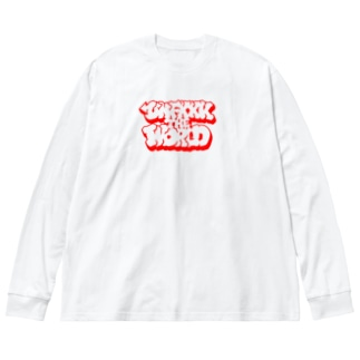 unfuck the world Big silhouette long sleeve T-shirts